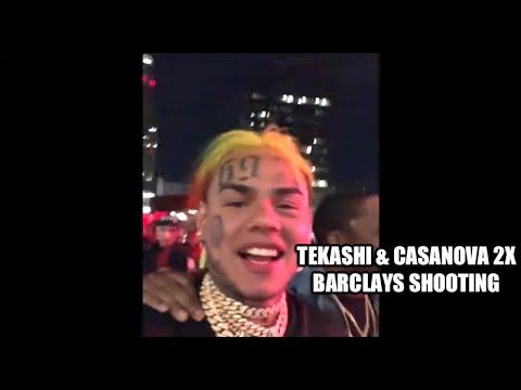 Video Footage of Tekashi & Casanova 2X Barclays Center Shooting Incident