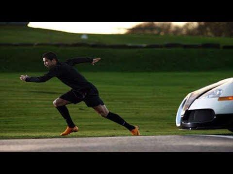 Cristiano Ronaldo vs Bugatti Veyron Nike Commercial