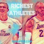 スポーツ選手の資産ランキング💎お金持ち👑トップ40🏀2021年版