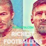 サッカー選手の資産ランキング💎長者番付👑トップ50⚽2021年