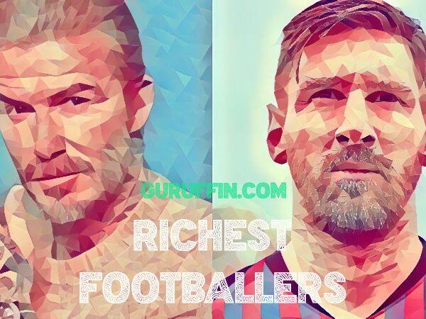 サッカー�手�資産ランキング💎長者番付👑トップ50⚽2021年