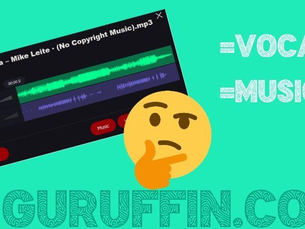 曲のボーカルを消す&ボーカルだけにする簡単な方法!💡2STEPで音楽を分離