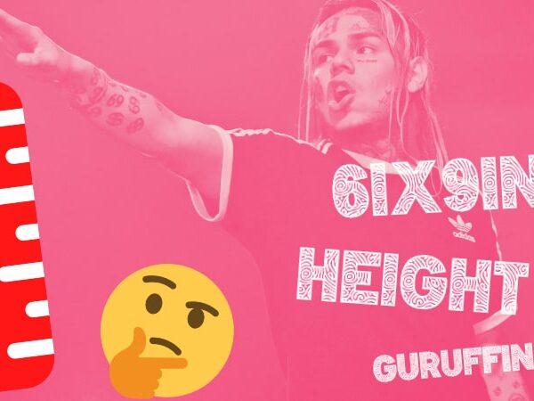 """6ix9ineの""""本当の""""身長は?🤨ラッパーたちとの身長比較で検証!👏"""