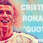 クリスティアーノ・ロナウドの25の名言💎モチベーションを高め、人生を変えよう🏃