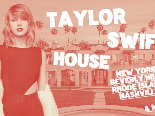 テイラー・スウィフトの12軒の家🏰合計100億円の美しい豪邸たち🗽に隠されたエピソードも紹介🇺🇸